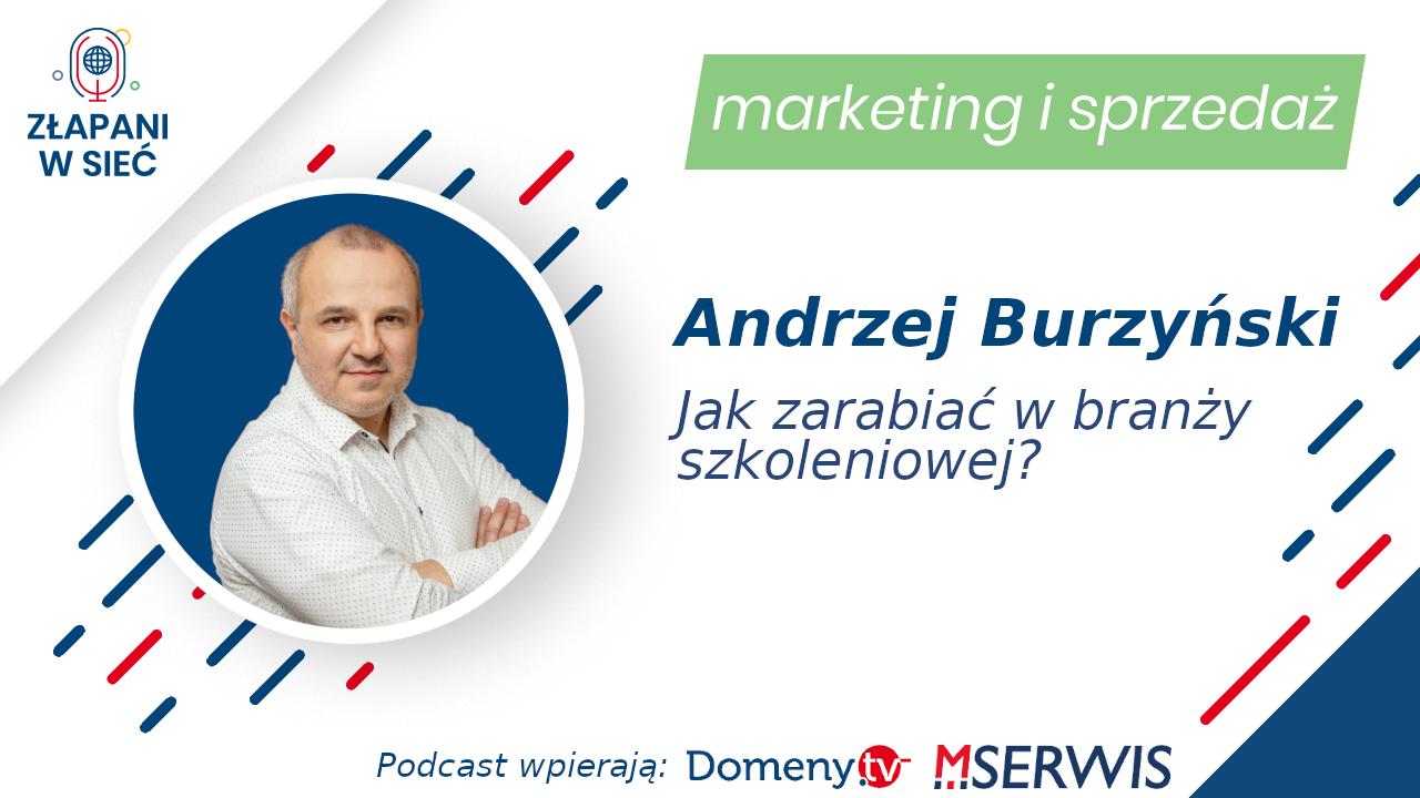 Andrzej Burzynski marketing i sprzedaż